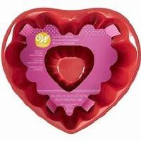 "8"" Heart Fluted Tube"