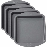 "8"" Square Cake Pan Set of 4"