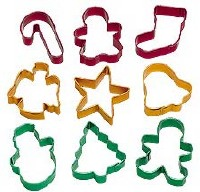 9-PC Christmas Cookie Cutters