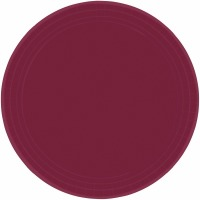 "9"" Plate 24 CT Berry"