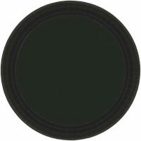 "9"" Plate 24 CT Black"
