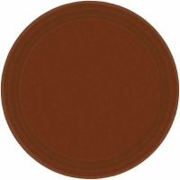 "9"" Plate 24 CT Brown"