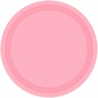 "9"" Plate 24 CT New Pink"