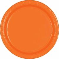 "9"" Plate 24 CT Orange"