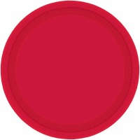 "9"" Plate 24 CT Red"