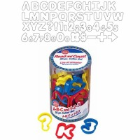 ABC/123 Cookie Cutter Set 50PC