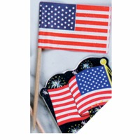 American Flag Party Pick 40 CT