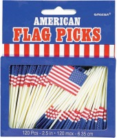 "2.5"" Flag Picks"