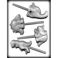 Assort Dinosaurs Hard Candy Mold (4)