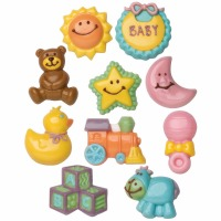 Assorted Baby Items Candy Mold