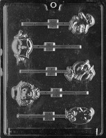 Assorted Halloween Lolly Mold