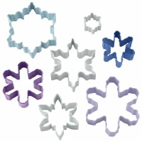 Assorted Snowflake 7 PC Set