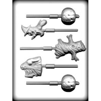 Assorted Halloween Sucker Mold