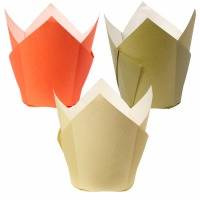 Autumn Pleated Baking Cup 15CT