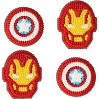 Avengers Icing Decoration 12 CT