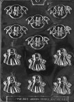 B/S Bats & Ghosts Mold