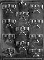 B/S Menorahs Mold