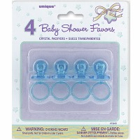 "Baby Pacifiers 2"" Blue 4 CT"
