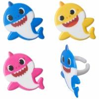 Baby Shark Cupcake Pics.
