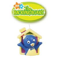 BackYardigans 3D Candle