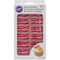 Bacon Royal Icing Decorations