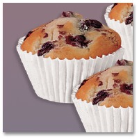"""Bake Cup 1-1/4"""" X 7/8"""" 500 CT"""