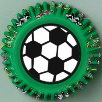 Bake Cups Soccer 50 CT