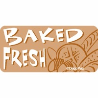 Baked Fresh Promo Label (500)
