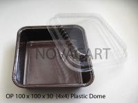 "BakeMold 4""X4"" Mold/Dome 10 CT"