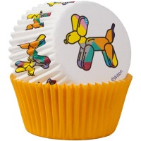 Baking Cup Balloon Dogs 75CT