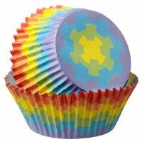 Baking Cup Digital Rainbow
