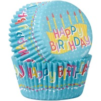 Baking Cup Happy Birthday