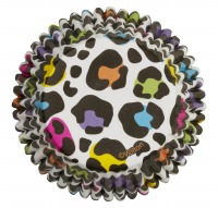 Baking Cup Leopard Brights