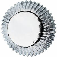 Baking Cup Mini Silver 36 Count
