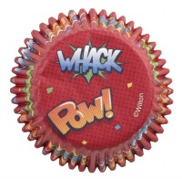 Baking Cup POW WHACK BOOM ZAP 75 CT