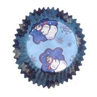 Baking Cup Snowman Muffin 50