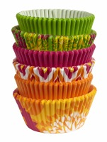 Baking Cups Neon Florals 150 CT