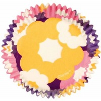 Baking Cups Retro Floral 75 CT