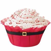 Baking Cups Santa Belt 12 CT