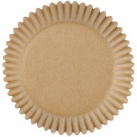 Unbleached Cupcake Liners75 CT