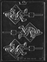 Baseball Player Lolly Mold