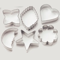 Basic 6pc Cookie Cutter Set
