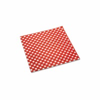 Basket Liners Checkered 24 CT