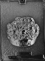 Basket Of Daises Mold