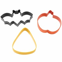 Bat Pumpkin Candy Corn CC 3PC