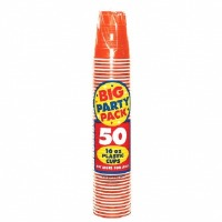 Big Party Pack 16 OZ Cup 50 CT Orange Peel