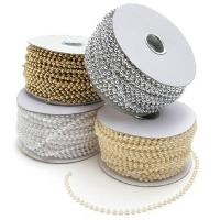 Beads 6MM White 50'