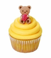 Bear with Gum Drop Icing Decoration