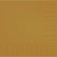 Beverage Napkin 50 CT Gold