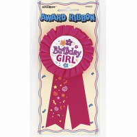 Birthday Girl Ribbon